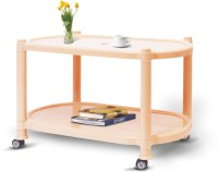Surprise Plastic Coffee Table (Finish Color - Beige)