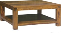 Evok Solid Wood Coffee Table (Finish Color - Rich Honey)