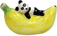 Tootpado Ceramic Banana Shape Piggy Kiddy Coin Bank Yellow