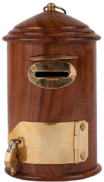 Pindia Coin Banks Pindia Beautiful & Fancy Wooden Letterbox Shaped Money Coin Bank