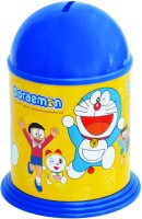 Buddyz Set of 2 - Doraemon Stickerized Coin Bank Blue