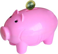 Buddyz Set of 2 - Pig-Shaped Coin Bank Pink