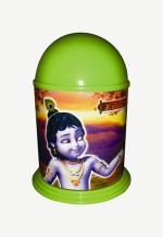 Buddyz Coin Banks Buddyz Little Krishna stickerised coin Bank Green Coin Bank