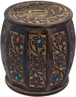 Craft Art India CAI-HD-0273 Coin Bank (Black)