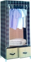 Pindia Fancy & Portable Aluminium Collapsible Wardrobe (Finish Color - Multicolor -wardrobe)