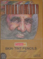 Camlin Skin Tint Pastel Round Shaped Color Pencils (Set Of 1, Assorted)