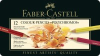 Faber-Castell Polychromos Round Shaped Color Pencils (Set Of 1, Multicolour)
