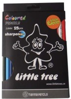 Little Tree Art Creation Round Shaped Color Pencils (Set Of 1, Multicolor) - CPSE3HZ2XVK4YG3T