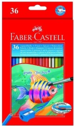 Faber Castell School Accessories Faber Castell Triangular Shaped Color Pencil