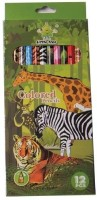 Little Tree Art Creation Round Shaped Color Pencils (Set Of 1, Multicolor)