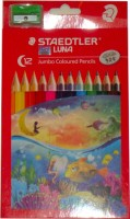 Staedtler Luna Hexagonal Shaped Color Pencils (Set Of 1, Assorted Color)