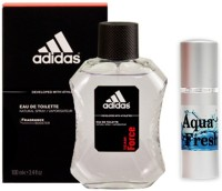 Adidas Team Force Perfume And Aqua Fresh Combo Set (Set Of 2)