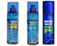 Layer'r Shot Absulute Rush,Craze,Game Deo (Pack Of 3) Combo Set (Set Of 3)