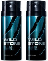 Wild Stone Aqua Fresh Combo Set (Set Of 2)