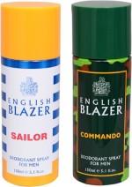 English Blazer Combos English Blazer Sailor::Commando Combo Set