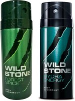 Wild Stone Forest Spice And Hydra Energy Combo Set (Set Of 2)