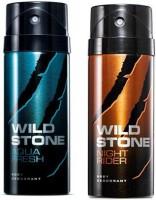 Wild Stone Aqua Fresh And Night Rider Combo Set (Set Of 2)