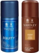 Yardley Combos Yardley Equity and Legend Combo Set