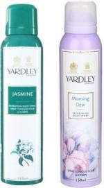 Yardley Combos Yardley Jasmine and Morning Dew Combo Set