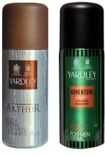 Yardley Combos Yardley Arthur and Adventure Combo Set