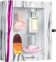Calvin Klein CALVIN KLEIN EDP SET FOR WOMEN Gift Set (Set Of 4)