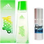 Adidas Combos Adidas Floral Dream Perfume And Aqua Fresh Combo Set