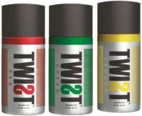 Twist Combo Pack Of Deodorant Red, Green & Yellow Combo Set (Set Of 3)