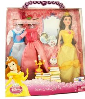 Disney Princess Belle Fashion Set Gift Set Combo Set (Set Of 5)