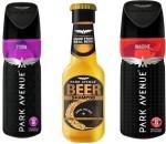 Park Avenue Combos Park Avenue Storm,Imagine,Damage Beer Shampoo Combo Set