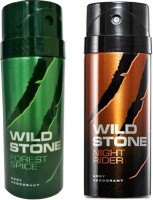 Wild Stone Forest Spice And Night Rider Combo Set (Set Of 2)