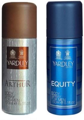 Yardley Combos Yardley Arthur and Equity Combo Set