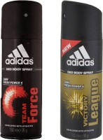 Adidas Team Force And Victory League Combo Set (Set Of 2)