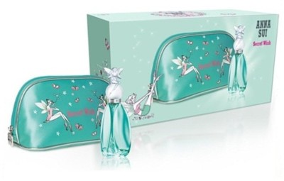 Anna Sui SECRET WISH GIFT SET 30ML EDT + POUCH Gift Set Set of 2 available at Flipkart for Rs.2205