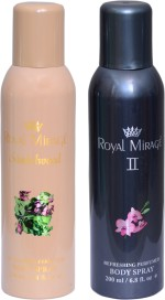 ROYAL MIRAGE Combos Royal Mirage SANDALWOOD , GRAY II Combo Set