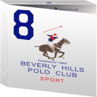 Bhpc Beverly Hills Polo CLub Sport Gift Set (set Of3) For Men No 8 Combo Set (Set Of 3)