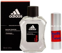 Adidas Team Force Perfume And Sports Fever Combo Set (Set Of 2)