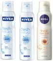 Nivea Fresh Natural Deo Combo Combo Set (Set of 2)