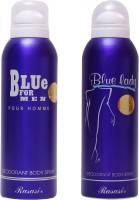 Rasasi Blue For Men::Blue Lady Combo Set (Set Of 2)