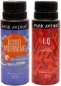 Park Avenue Park Avenue Good Morning, IQ Pack Of 2 Deodorants Combo Set - Set Of 2