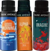 Park Avenue Goodmorning,Alpha And Imagine Combo Set (Set Of 3)