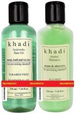 Khadi Combos and Kits Khadi Neem Anti Dandruff Combo
