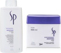 Wella Professionals Sp Smoothen Shampoo With Mask (Set Of)