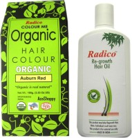 RADICO AUBURM RED WITH RE GROWTH HAIR OIL (Set Of)
