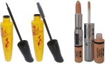 ADS Combos and Kits ADS Eyliner, Mascara and Foundation & Concealer Double Action