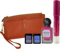 Revlon Bold And Beautiful Beauty Collection With Leather Wallet (Set Of 4)