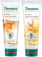 Himalaya Herbals Fairness Kesar Pack & Face Wash (Set Of 2)