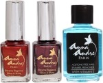 Anna Andre Paris Combos and Kits Anna Andre Paris Nail Polish Cherry Waffle Duo Set & Nail Polish Remover