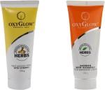 Oxyglow Combos and Kits Oxyglow Fruit Massage Cream With Vitamin E & Saffron with vitamin E Gold Massage Cream