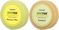 Healthbuddy Zerotox Handmade Rosemary & Mint + Sandalwood (2pcs Of 125 Gms Each) (Set Of 2)