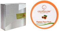 Oxyglow Papaya Facial Kit & Papaya Face Pack (Set Of 2)